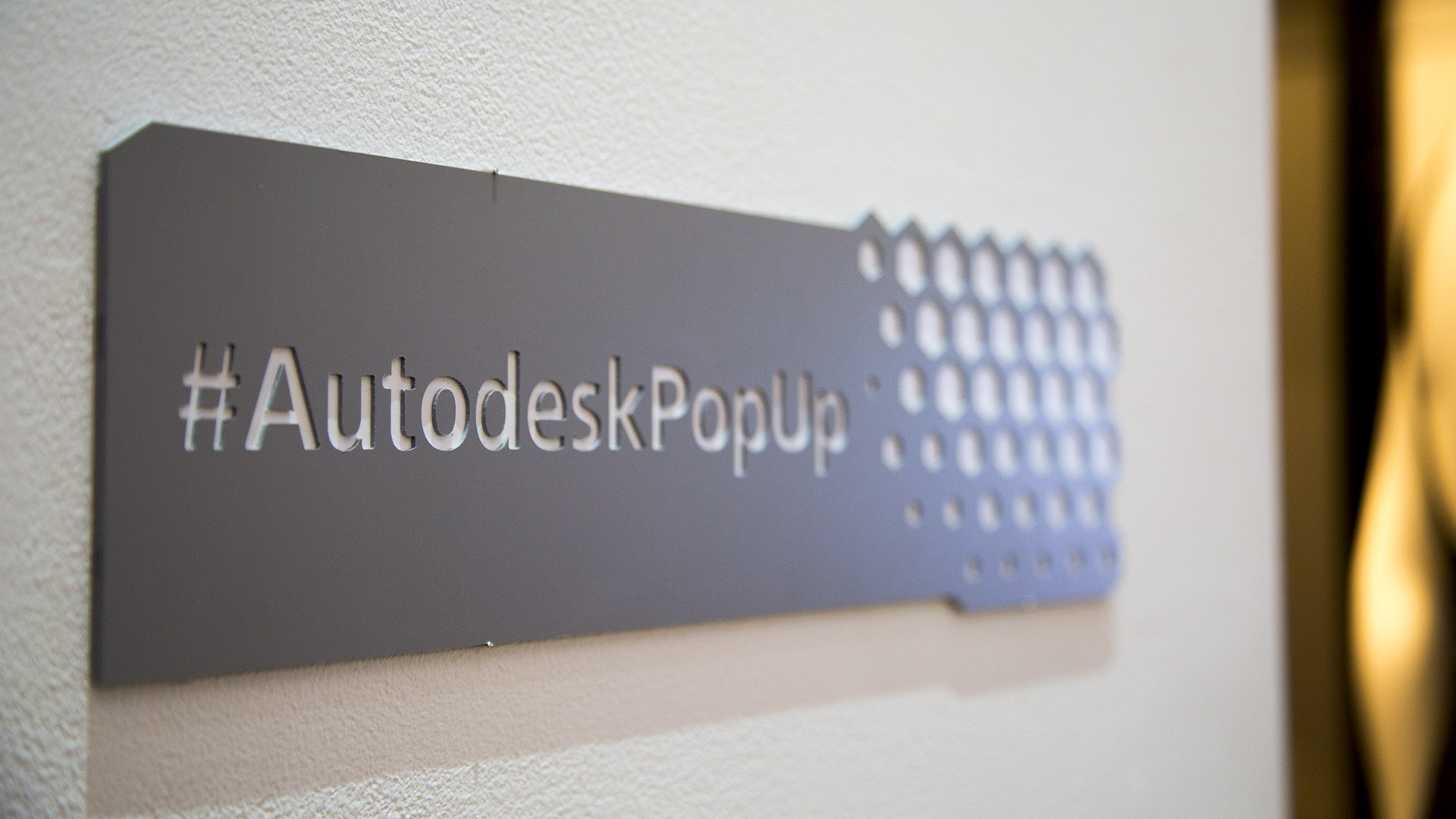 Autodesk Pop-Up Gallery | Pop-Up 2015